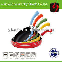 Home &Cookware bakelite with painting Pans and color optional