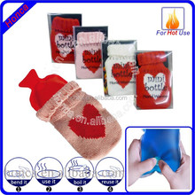 promotion gifts portable hand warmer packets knited cover