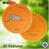 Good quality absorbent hanging cute paper car air freshener
