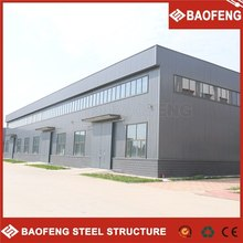 insulated low cost prefabricated living warehouse with 100m2
