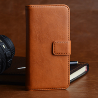 High end multi wallet flip phone case by phone case factory