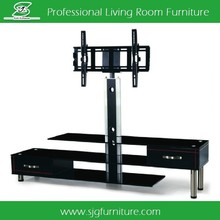 Tempered Glass TV Stand Plasma TV Table