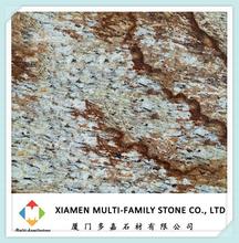 cheap flagstone Verniz Tropical granite slab