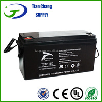 12V 160Ah Maintainance Free Lead Acid SLA VRLA Gel Deep Cycle Solar PV UPS Rechargeable Battery