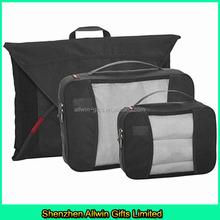 High quality Nylon Ripstop travel bag organizer/travel organizer set