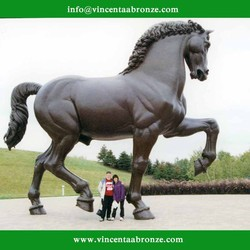 Bronze Horse Statue for Garden (custom-made service is available )