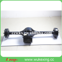 electric trike high torque rear axle with bldc motor