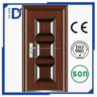 made in China 2015 French style exterior metal doors Steel security door Cheap steel door