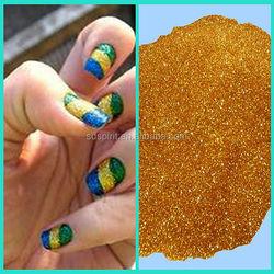 fine gold powder for nail polish