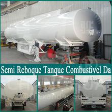 trailer para lanches HCH9400GHYLHJ42 Semi Reboque Tanque Combustivel Da