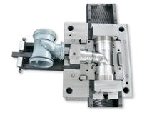2015 new products plastic injection mold parts for pvc fitting