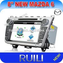 2 din 8 inch Car GPS for mazda 6 TV/AM/FM/RDS