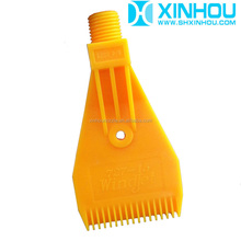 Plastic wind jet industrial washer spray cleaning nozzle