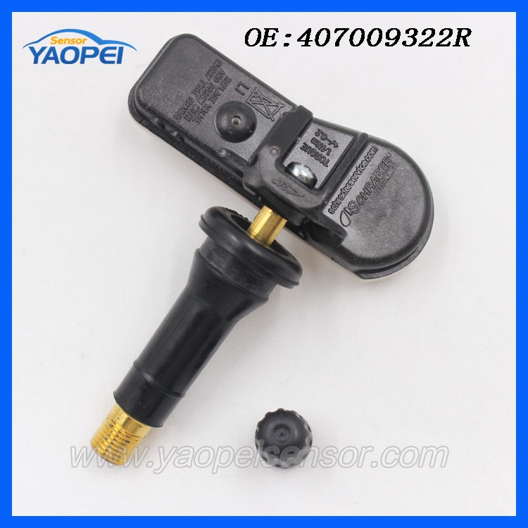 auto partie tpms capteur 407009322r pneu capteur de pression pour renault kangoo clio captur. Black Bedroom Furniture Sets. Home Design Ideas