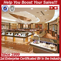 Wholesale New Custom Retail Jewellery Shop Furniture Design