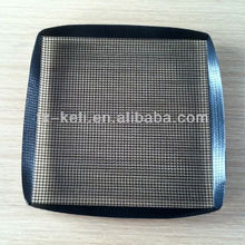 """PTFE Non-stick Oven Mesh Basket with reinforced edges 12""""x12""""x1"""" for crisping cooking"""