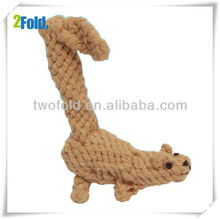 Squirrel Cotten Rope Dog Sports Equipment