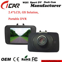 "ROSH Certificate Available 2.4""LCD, GS Solution, Portable DVR"
