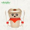 Rice husk fiber eco unbreakable children dinnerware set