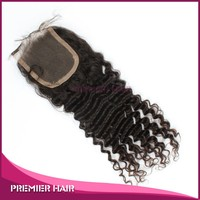 14inch Wholesales Chinese hair swiss lace Closure free part top closure hair piece
