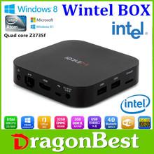 Wintel Mini Pc Compute Stick 64 Bit Intel Atom Quad Core (4C/4T) Soc Bay Trail Cr,Z3735F