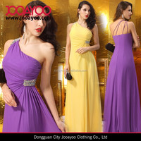 New style one shoulder slim maxi evening dress online shopping