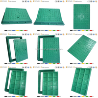 High Quality Standard Plastic Chamber Cover Sizes/Manhole Cover