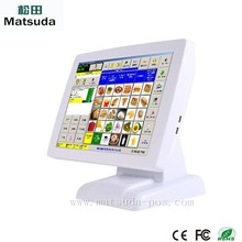 """hot sale 15"""" win 7 1.86Ghz ATOM Dual Core touch screen pos machine with fanless"""