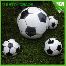 Football Garden Ornaments in Stainless Steel