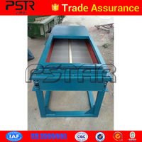 99% sieve rate linear foundry sand vibrating screen machine made in China