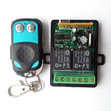 hot sales 433mhz 2button remote control garage door monitoring system