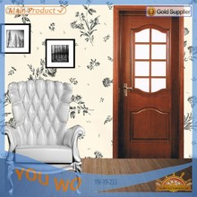 Glass interiorYOUWO PVC door YHP-176 (Top quality,quickly lead time.Reasonable price)