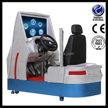 operator training simulator car driving simulator with 3d screens