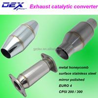 universal stainless steel metal honeycomb catalytic converter