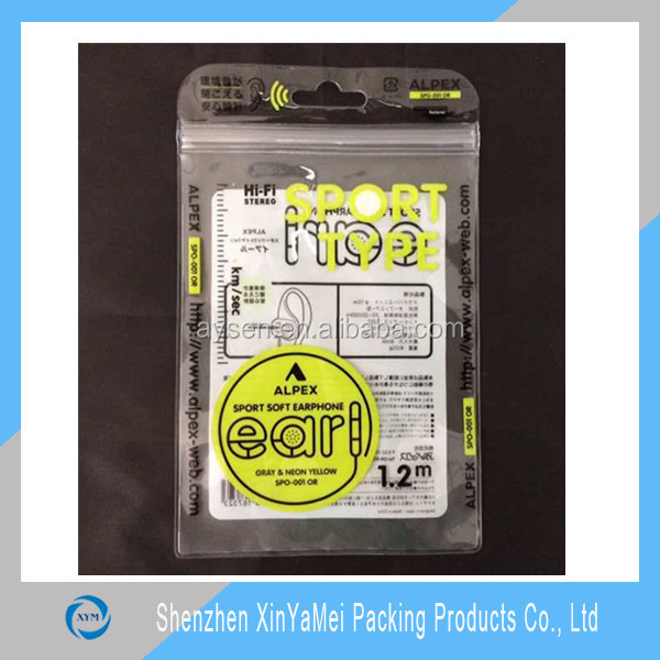 Customized Logo Printing Waterproof Phone EVA Bag With Zipper