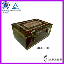 wooden jewelry box for holiday decoration & gift