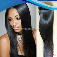 Beauty straight virign human model model hair extension wholesale,bohemian chocolate hair weave