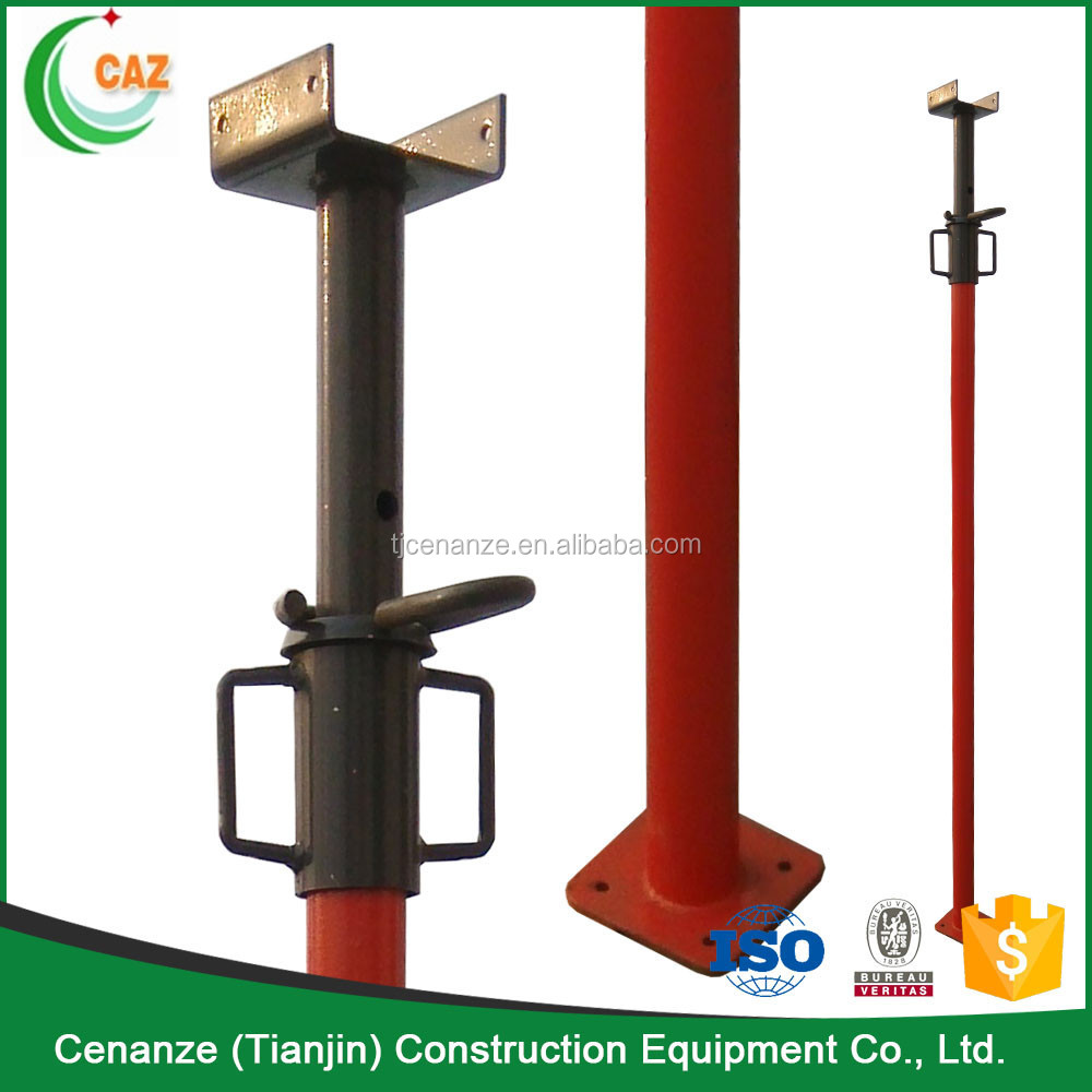 Pole Shoring Jacks : Scaffolding shoring post props jack and pull push