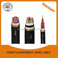 PVC insulated and sheath many applications standard pro power cable