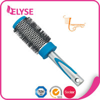 Hot sale healthcare comfortable plastic round hairbrush