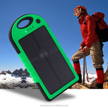 Promotion key chain with led waterproof portable solar charger alibaba china market