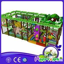 Jungle theme cheap used indoor playground eequipment