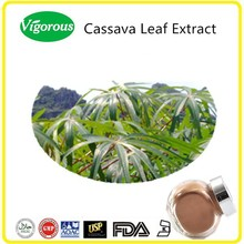 High quality Free sample Kosher Halal Cassava Leaf Extract Powder