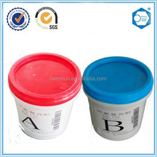 Strong adhesive two component epoxy resin ab glue for metal
