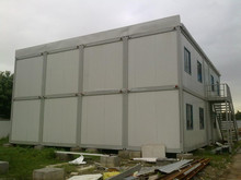 Fast installed steel structure frame 20FT smart container house
