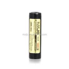 MXJO Li-lon 18650 3.7v battery protected MXJO 3400mah Flat Top