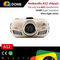 2015 Newest Car DVR With Ambarella A12 Chipset 2.7'' Display QHD 1440p Car Camera Super Low Light Function DAB201 Dash Cam