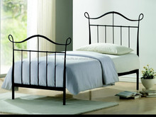 Double Queen size Design modern home platform Metal bed BD-3011