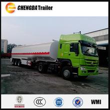 2015 china la fabricación del eje 3 45000l litros camiones cisterna de combustible para la venta
