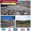 build gabion retaining wall/stone wire cage/boundary walls